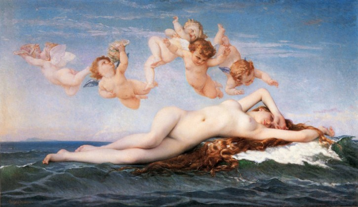 The Birth of Venus Photoshopped