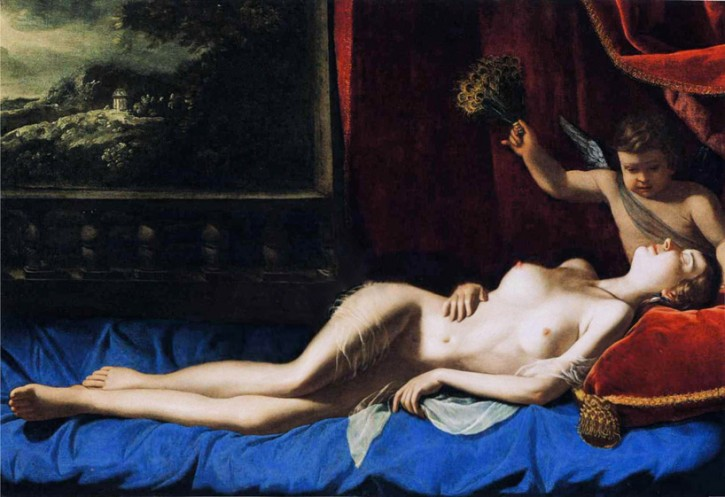 The Sleeping Venus Photoshopped